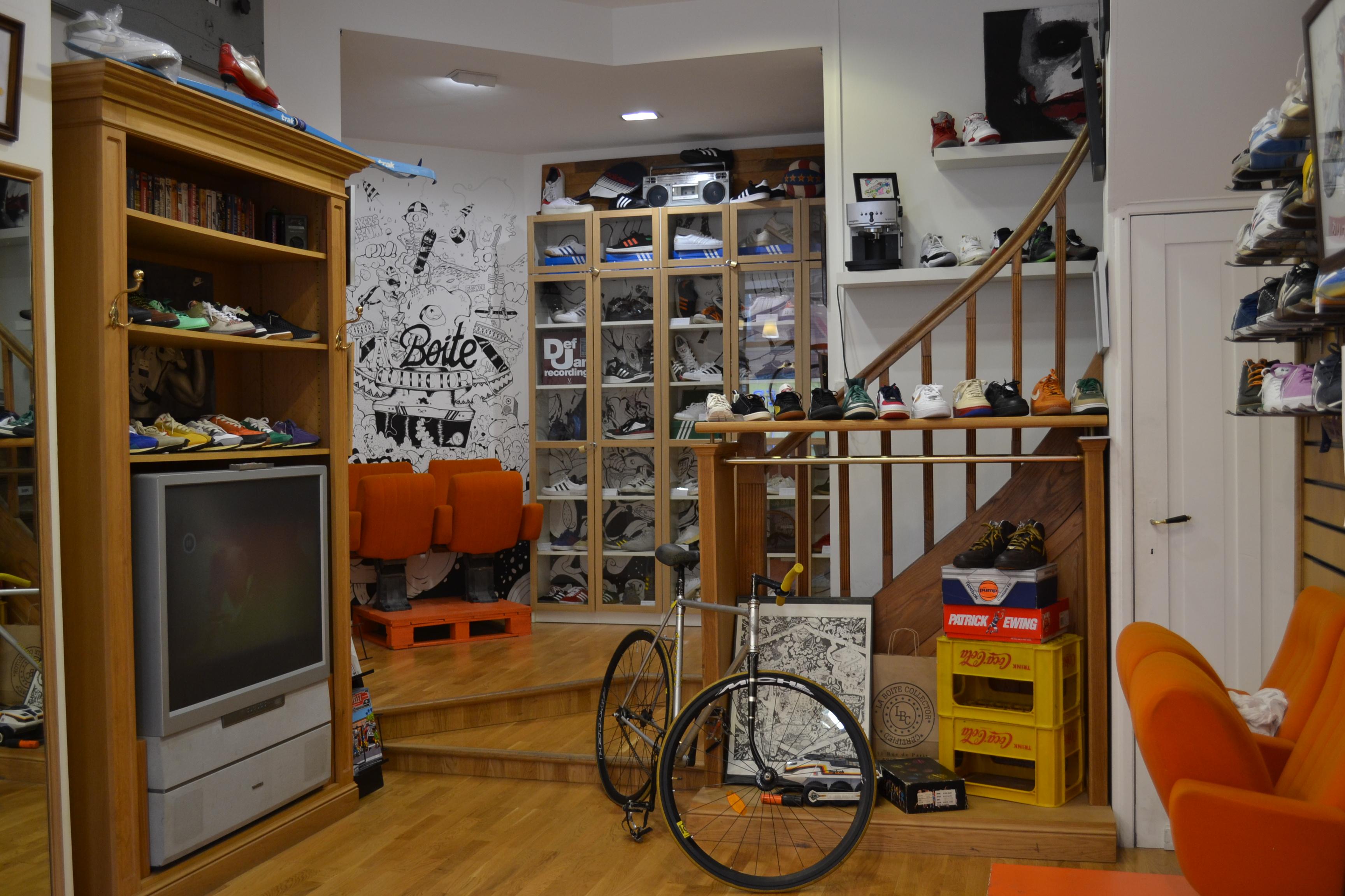 Comment Customiser Une Boite A Chaussure la boîte collector : le temple de la basket à lille !   les